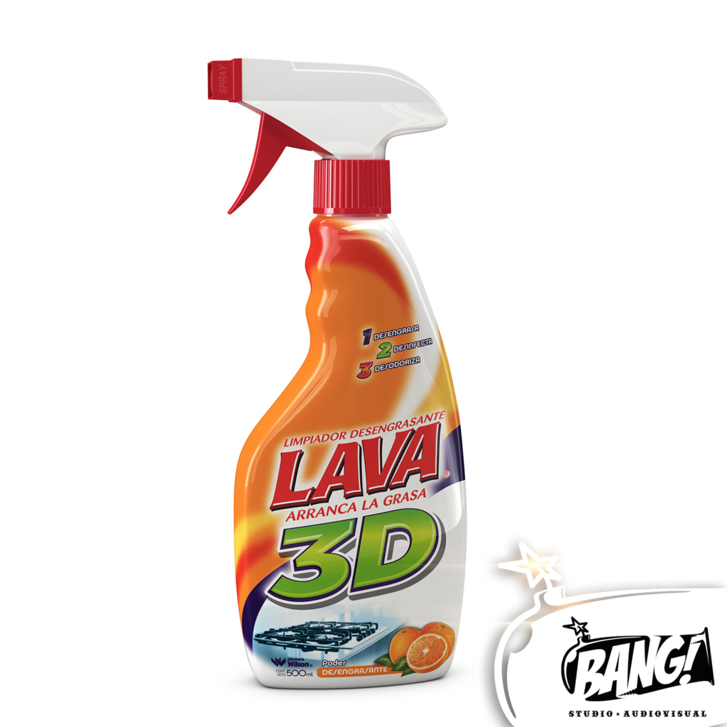 LAVA 3D – EMPAQUE SPRAY